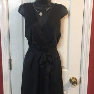 Francesca's size 1 black dress. Lined/ slip on